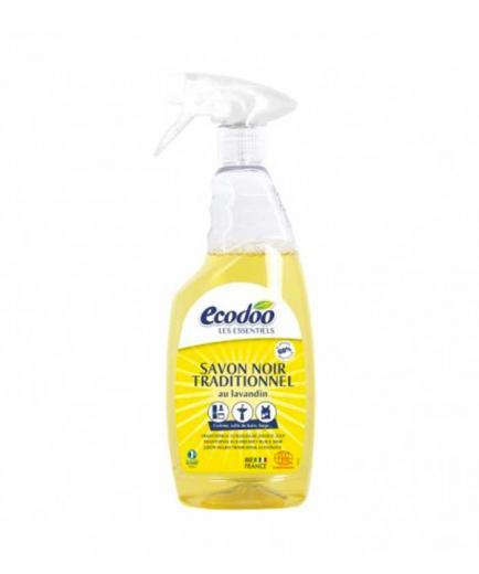Ecodoo - Multipurpose black soap in degreasing spray 750ml
