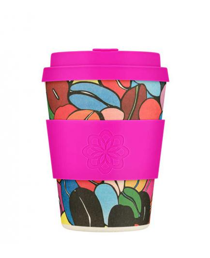 Ecoffee cup - Bamboo glass 340ml - Couleur Café