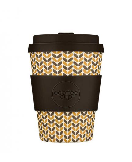 Ecoffee cup - Bamboo glass 340ml - Threadneedle