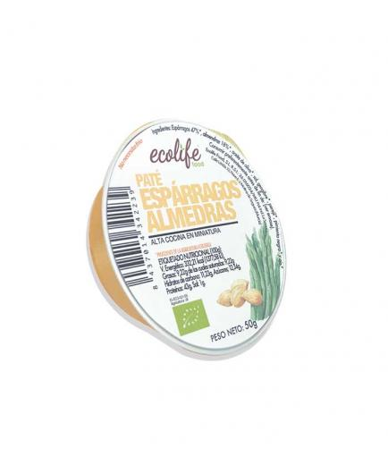 Ecolife - Bio vegetable paté of asparagus and almonds 50g