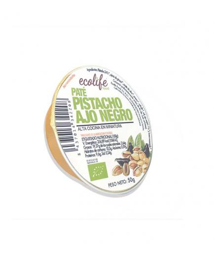 Ecolife - Organic pistachio and black garlic vegetable pate 50g