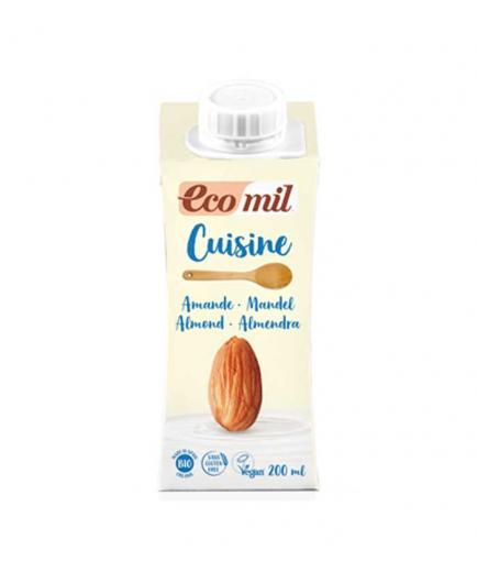 Ecomil - Organic almond cream for cooking Cuisine