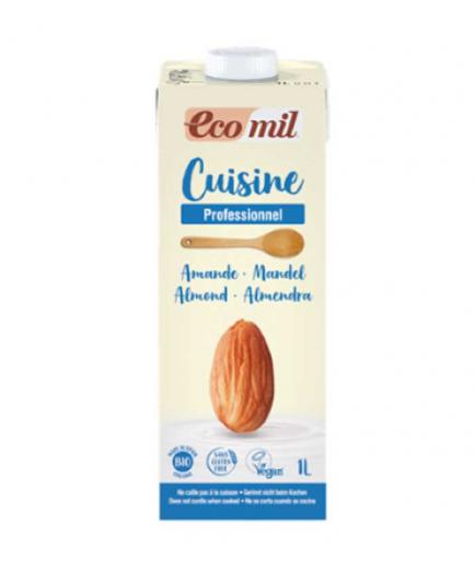 Ecomil - Organic almond cream for cooking Cuisine 1L