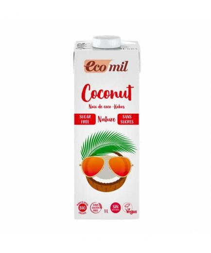 Ecomil - Gluten-free organic sugar-free coconut milk 1L