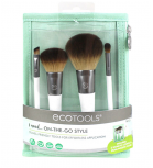 Ecotools - On-The-Go Style Kit Brushes set 4 pieces