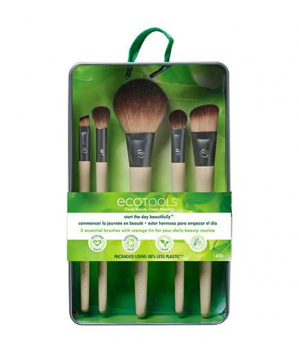 Ecotools - Start The Day Beautifully Kit Brushes set 5 pieces