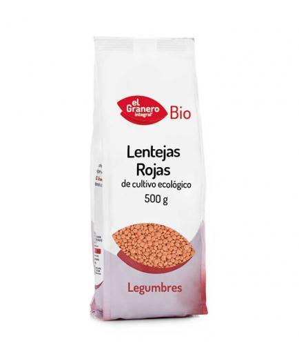 El Granero Integral - Bio Red Lentils 500gr