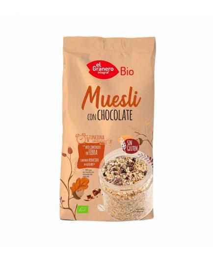 El Granero Integral - Organic gluten-free Muesli with chocolate 375g