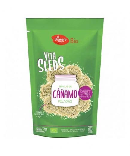 El Granero Integral - Organic peeled hemp seeds 240g