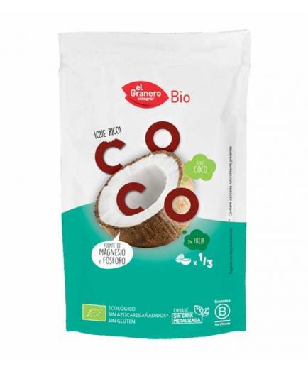 El Granero Integral - Natural crunchy fruit snack - Coconut