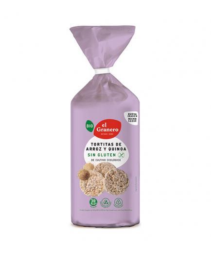 El Granero Integral - Bio rice and quinoa pancakes 120g