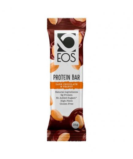 EOS nutrisolutions - Gluten-free protein bar 35g - Peanut and dark chocolate
