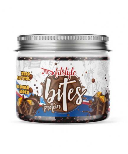 Fitstyle - Milk chocolate protein balls Protein Bites American 100g - American bar