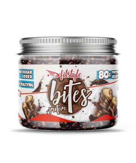 Fitstyle - Protein Bites Praline Milk Chocolate Protein Balls 100g - Hazelnut