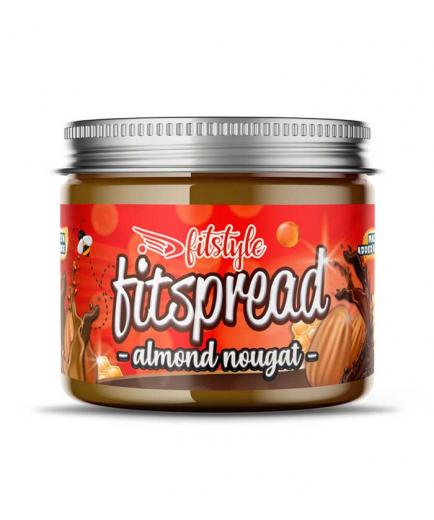 Fitstyle - Fitspread Almond Nougat almond cream 200g - Nougat