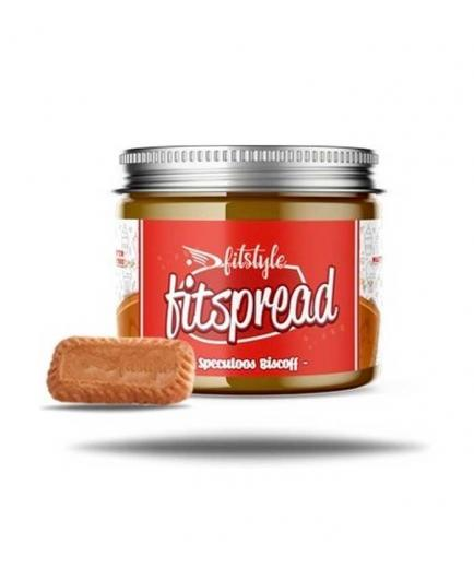 Fitstyle - Almond cream Fitspread Speculoos Biscoff 200g - Caramelized biscuit