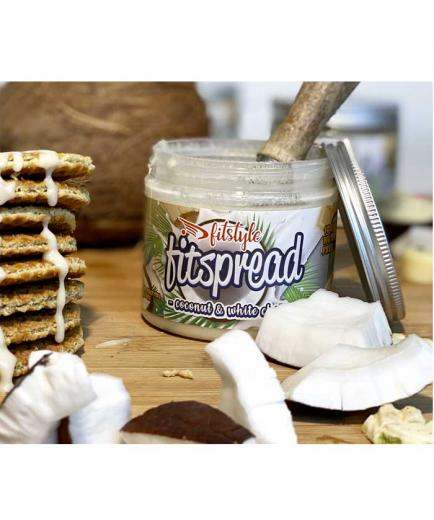 Fitstyle - Coconut cream with white chocolate Fitspread 200g