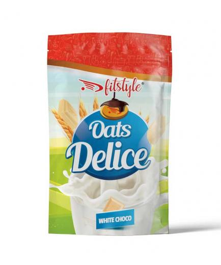 Fitstyle - Oats Delice Oatmeal 500g - White Choco