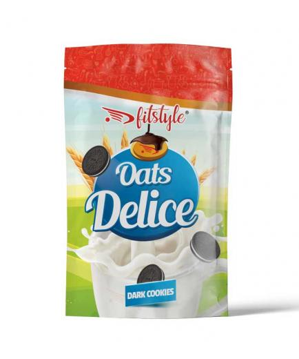 Fitstyle - Oats Delice Oatmeal 500g - Dark cookies