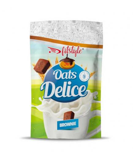 Fitstyle - Oats Delice gluten-free oatmeal 500g - Brownie