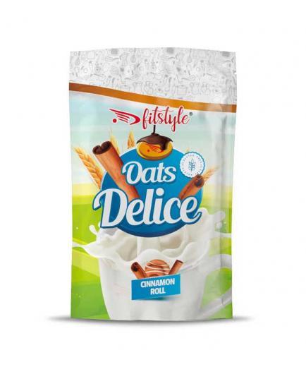 Fitstyle - Oats Delice gluten-free oatmeal 500g - Cinnamon Roll