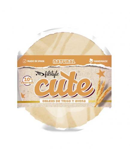 Fitstyle - Sweet Wheat and Oat Wafers Cute 50g - Natural