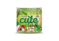 Fitstyle - Healthy Savory Wheat and Oat Wafers Cute 50g - Pesto