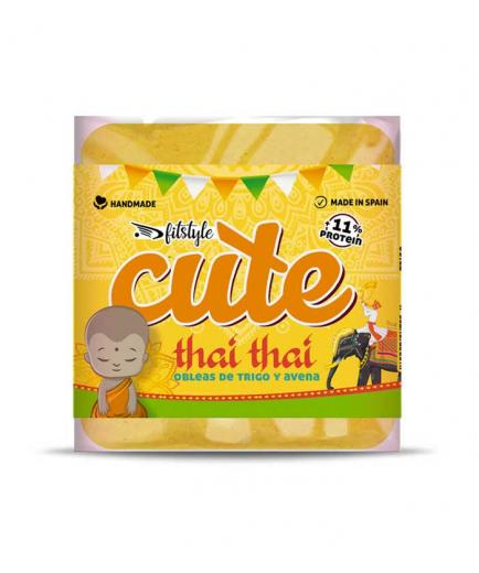Fitstyle - Healthy Salted Wheat and Oat Wafers Cute 50g - Thai Thai