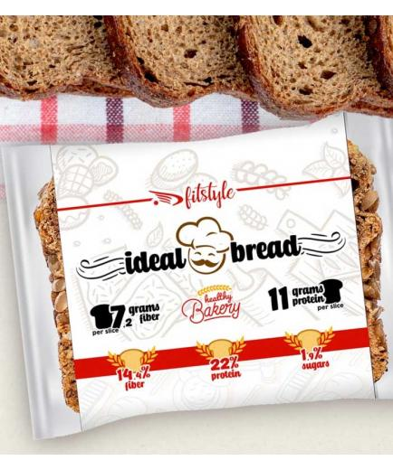 Fitstyle - Artisan sliced bread with seeds Ideal 250g