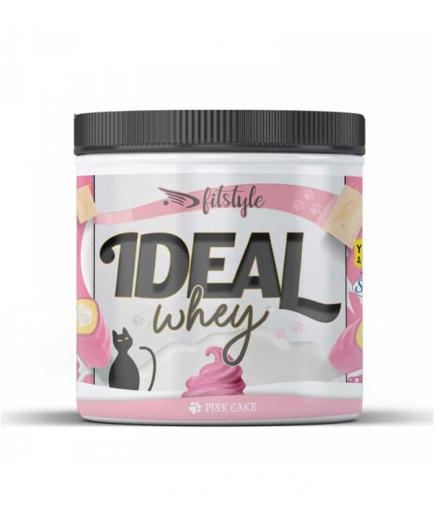 Fitstyle - Ideal Whey Pink Cake Whey Protein 500g - Strawberry Bun