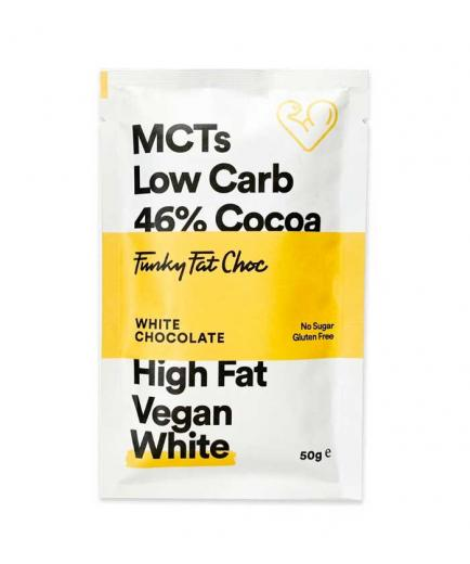 Funky Fat Foods - Vegan Keto White Chocolate 50g