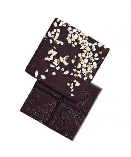 Funky Fat Foods - Dark Chocolate 71% Vegan Keto 50g - Hazelnut