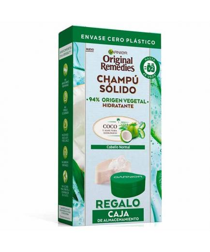 Garnier - Solid Hydrating Shampoo Original Remedies - Normal Hair