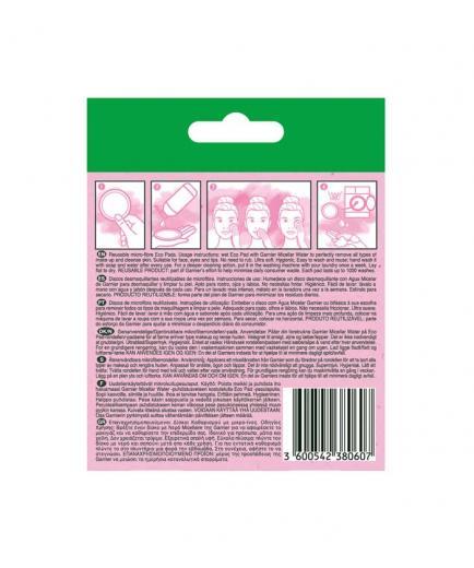 Garnier - *Skin Active* - Reusable microfiber makeup remover pads