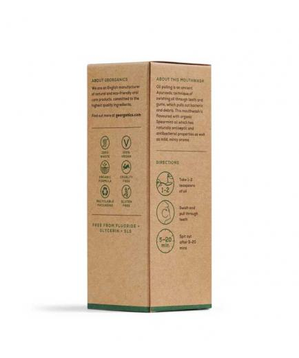 Georganics - Liquid Natural Mouthwash - Coconut and Mint Oil