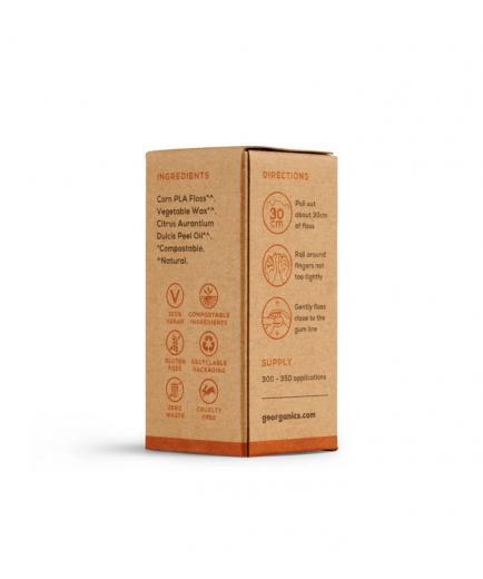 Georganics - Dental floss - Orange