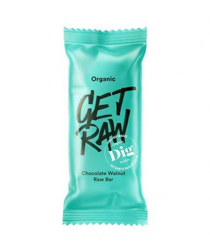 Get Raw - Ecological energy bar 42g - Chocolate and nuts
