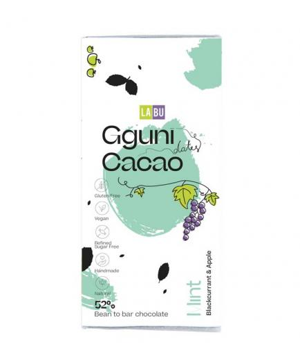 Gguni - Chocolate with mint 65% 60g - With LABU of black currants and apple