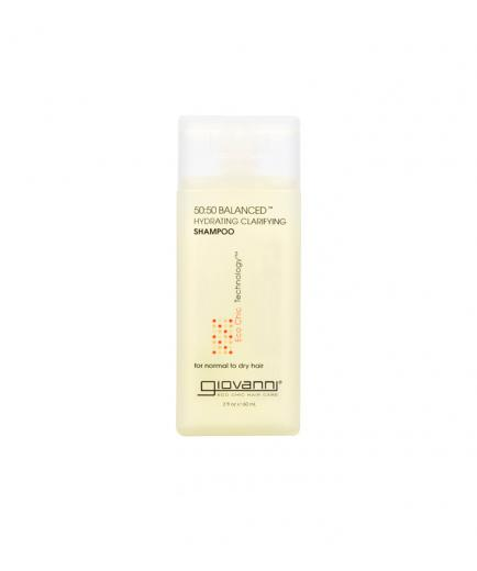 Giovanni - 50:50 Balanced Hydrating-Clarifying Shampoo - Balanced 50:50 - 60ml