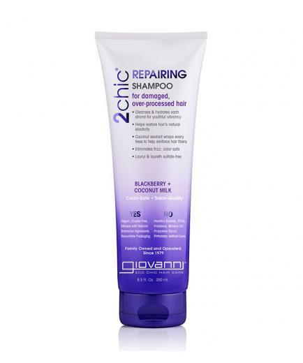 Giovanni - 2Chic Repairing Shampoo - Blackberry & Coconut milk