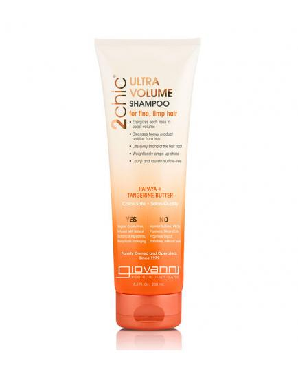 Giovanni - Ultra-Volume Shampoo 2Chic - Tangerine and Papaya Butter