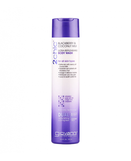 Giovanni - 2Chic Ultra-replenishing Body wash - Blackberry & Coconut milk