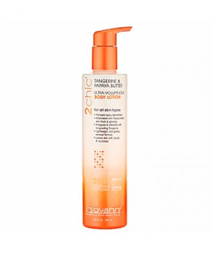Giovanni - Ultra-Voluptuous Body Lotion 2Chic - Tangerine and Papaya Butter