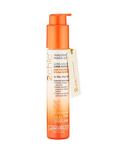 Giovanni - Ultra-Volume Super Potion Hair Styling Booster 2Chic - Tangerine and Papaya Butter