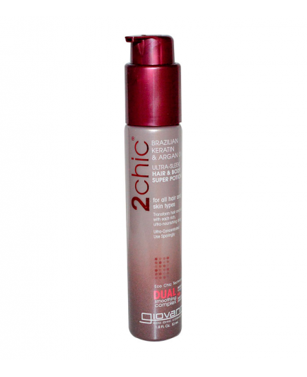 Giovanni - Ultra-Sleek Hair and Body Super Potion 2Chic - Brazilian Keratin and Argan Oil
