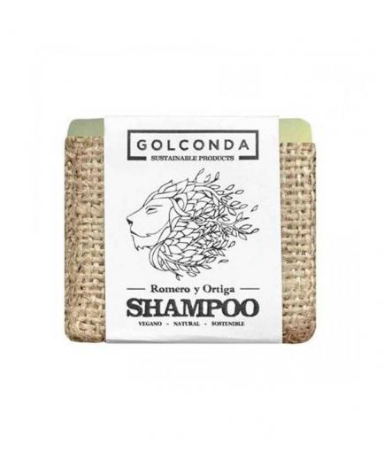 Golconda - Solid vegan shampoo - Rosemary and Nettle
