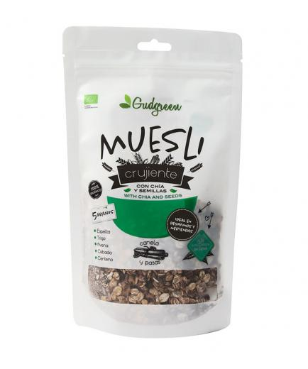 Gudgreen - Granola with chia and seeds