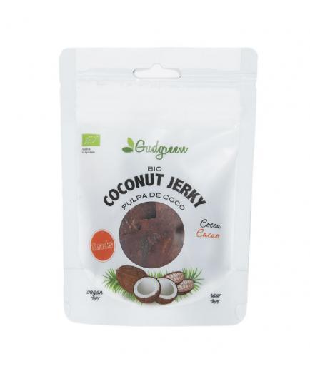 Gudgreen - Coconut Jerky Snack - Cocoa