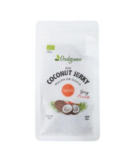 Gudgreen - Coconut Jerky Snack - Spicy