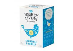 Higher Living - Chamomile and vanilla infusion - 15 sachets